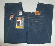 Boys Pants DICKIES BLUE JEANS Straight Leg LOOSE FIT Size 12