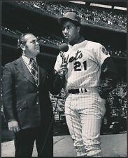 1971 Original Photo CLEON JONES & BOB MURPHY New York Mets