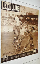 BUT ET CLUB N°82 1947 FOOTBALL EFFECTIFS CYCLISME GINO BARTALI TOUR DE SUISSE