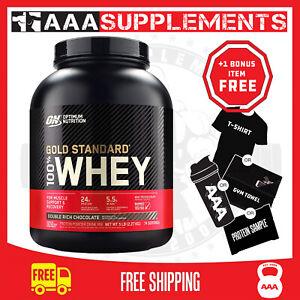 Optimum Nutrition - 100% Gold Standard Whey | 5lb | Protein Supplement WPI