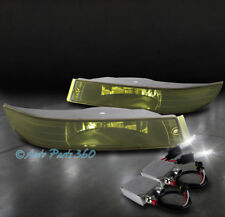 00-05 CHEVROLET IMPALA BUMPER DRIVING FOG LIGHT LAMP YELLOW LENS +50W 6K HID KIT