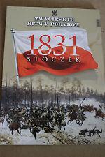 Winning the battles in the history of Poland Tom 39 Stoczek - 1831 Polish Book