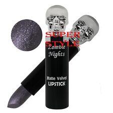 Saffron London Zombie Nights Velvet Skull Lipstick 09 Rock Star - FROST PURPLE