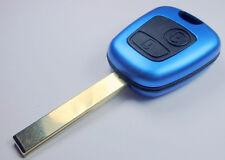 Key shell MODIFITE SET PEUGEOT / CITROEN  BLUE COLOR