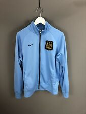 NIKE MANCHESTER CITY FC Track Jacket - Large - Great Condition - Men's