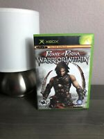 Prince of Persia: Warrior Within (Microsoft Xbox, 2004) Complete W/ Manual