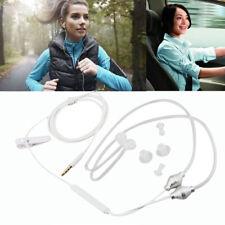 3.5mm Dual Air Tube Stereo Anti-radiation Headset Earphone for iPhone 6 7 8 Plus