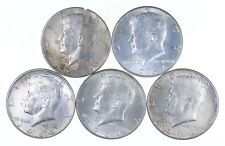1964 $2.50 Face 90% Silver Kennedy Half Dollar - Look UNC/BU! 1/4 Roll *289