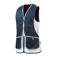 Beretta Ladies Silver Pigeon Shooting Vest In Blue