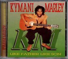 Reggae Dub Kymani Marley Like Father Like Son CD 11 Vocals & 11 Dubs Ky-Mani