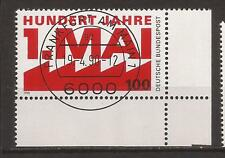 1990 Day of Work very fine used, Michel 1459