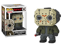 Funko POP! Friday The 13th: 8-Bit Jason Voorhees - Stylized Vinyl Figure 23 NEW