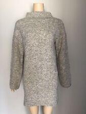 NEXT Grey Wool Blend Sweater Dress 6
