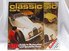Vintage Cars Magazine 1978 Nash Healey/Porsche Carrera 6/Nurburgring/Old Cars