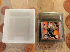 ALIENS THANATOS ENCOUNTER (Nintendo Gameboy Color GBC) USA Nice Label VERY RARE!