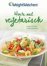 Buch Heute mal Vegetarisch Weight Watchers Deutschland Gemüse Obst Getreide wow