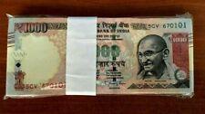 India 100 Rupees Bimal Jalan Signature Banknote Bundle 100pcs serially P-91 UNC