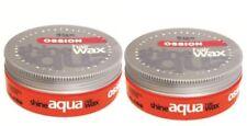 Ossion Aqua Hair Shine Wax - 175ml PCK 2 Red Tub