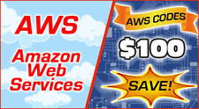 AWS $100 Code Amazon Promocode Credit Web Services AWSEDUCATE100CY21_0402