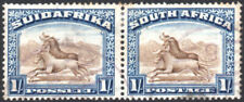 South Africa 1927-30 1s brown & deep blue, perf.14, SG.36, used cat.£55