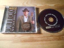 CD Indie John Wheeler - Un-American Gothic (12 Song) Promo COOKING VINYL jc