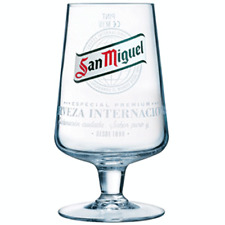 San Miguel One Pint Beer Goblet Glass - NEW