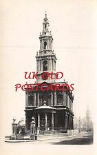 LONDON WC2 - St. Mary Le Strand Church WRNS - Real Photo Postcard