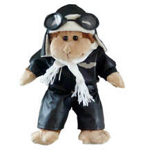 "Teddy Mountain Aviator Outfit w/ Helmet and Goggles Outfit Fits all 14""-18"