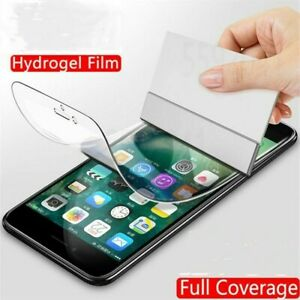 Hydrogel Film Screen Protector For iPhone 7 8 Plus SE 2020 11 XS Max 12 Pro Max