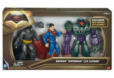 Batman V Superman Dawn of Justice Lex Luthor Figure 3-pack Mattel DHY28