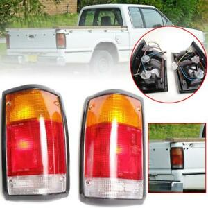 For 1985-98 Mazda B2000 B2200 B2600 Pickup Rear Tail Lights Lamp Pair LH RH