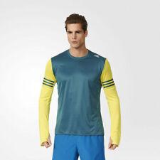 Abbiglimento sportivo da uomo manica lunghi marca adidas