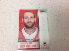 2017 NRL TRADERS FACES OF THE GAME, JASON NIGHTINGALE, FG 38/48.