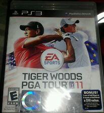 Tiger Woods PGA Tour 11  (Playstation 3, 2010) (Sealed)