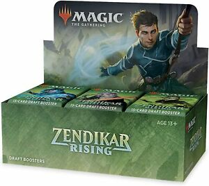 Zendikar RIsing Draft Booster Box Sealed Magic the Gathering
