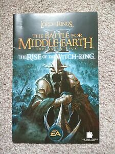 LOTR: battle for middle earth 2 expansion rise of the witch king manual and key