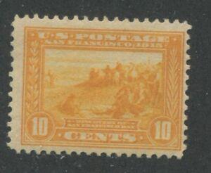 1913 US Stamp #400 10c Mint Hinged F/VF Original Gum Panama-Pacific Expo Issue