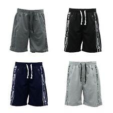 NEW Men's Gym Sports Jogging Casual Basketball Shorts w Drawstring Zip Pockets