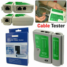 RJ45/RJ11 RJ12 Network Ethernet LAN Cable Tester Telephone PC Wire Testing Tool