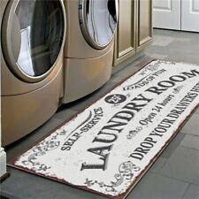 Non-Slip Laundry Room Mat Entrance Doormat Laundry Carpet 40x120cm
