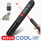 Laser Light for Cats Dogs,2.4GHz Wireless Presenter Presentation Remote Clicker