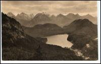 SCHWANGAU ~1910/20 Hohenschwangau Panorama Postkarte