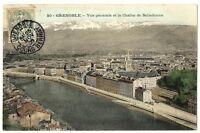 CPA 38 Isère Grenoble Vue générale et Chaîne de Belledonne