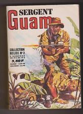 SERGENT GUAM. Album relié n°2 - n° 5, 6, 7, 8 - imperia 1973. Etat neuf