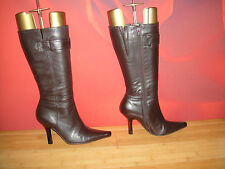 Stunning Brown leather LilLey & Skinner boots  UK 4 *23*