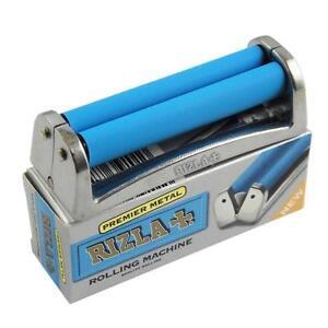 2X RIZLA Premium Metal Cigarette Rolling Machine King and Regular Size Genuine