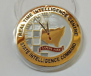 NSW Police 'State Intelligence Command' RTIC Challenge Coin