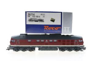 TT ROCO 36214 DR 132 193-4 Ludmilla Diesellok analog OVP J57