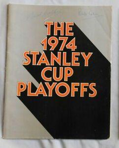 1974 Philadelphia Flyers Vs New York Rangers Program 5/5/74 Game 7 Semi Finals