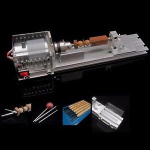 11in1 Mini Drehmaschine Drechselbank Perlen Poliermaschine Holz DIY Werkzeug Kit